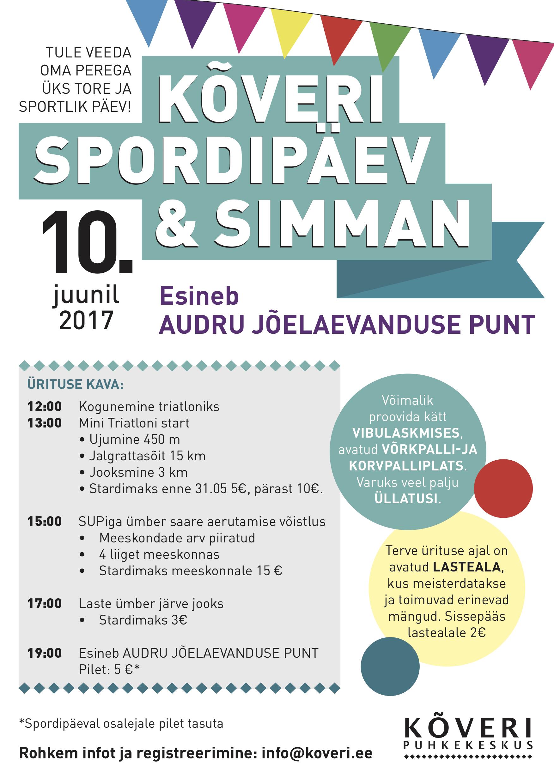 Spordipäev Kõveris