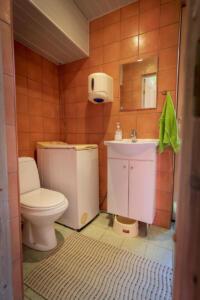 Kimmimaja tualett- ja dušširuum